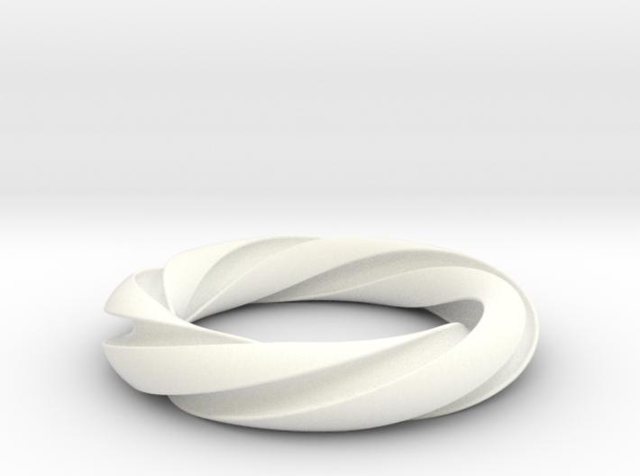 Groovy 3-5 Torus Knot 3d printed