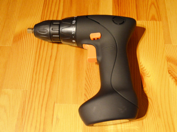 Coffee Grinder Bit For Drill Driver CDP-LRE 3d printed FIXA Screwdriver/drill, lithium-ion size 7.2 V