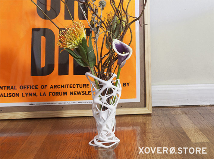 """Roots"" Phyllotaxia Vase 3d printed Only possible with 3d printing!"