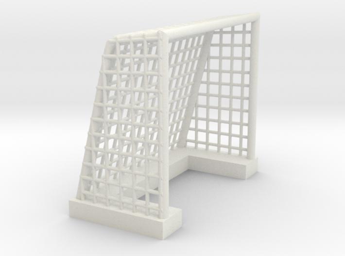 Soccer Goal for mini figures blocks (Lego compatib 3d printed