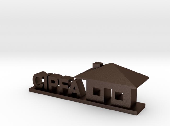 CIPFA Logo 3d printed