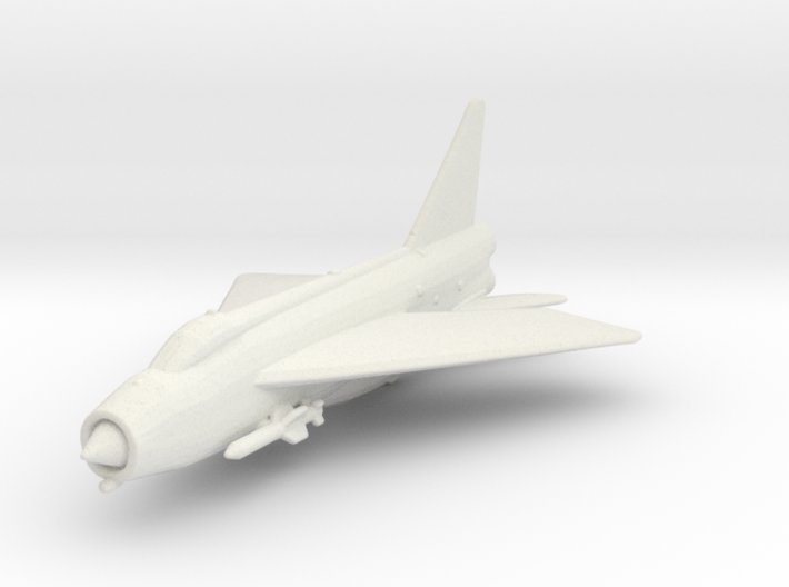 English Electric Lightning (with Firestreak) 3d printed