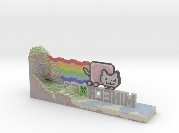 NyanNew 3d printed