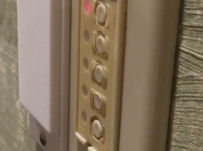 Paddle Light Switch Cover 3d printed