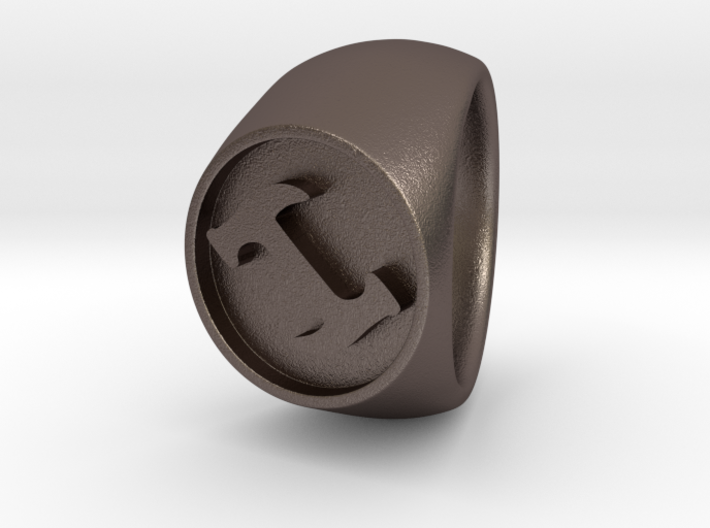 Stonecutter Ring (size 13) 3d printed