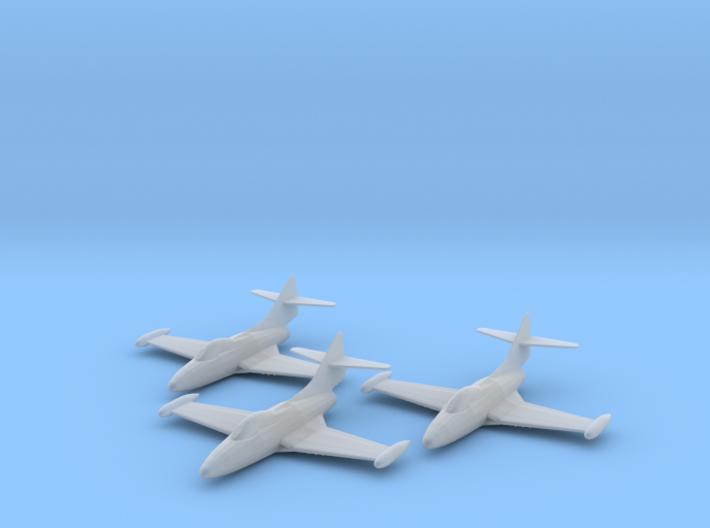 Grumman F9F-2 'Panther' 1:200 x3 FUD 3d printed