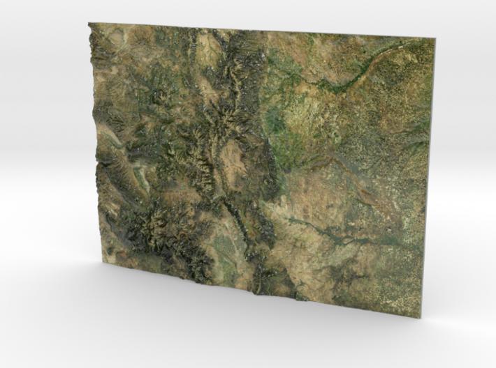 Colorado Map 3d printed