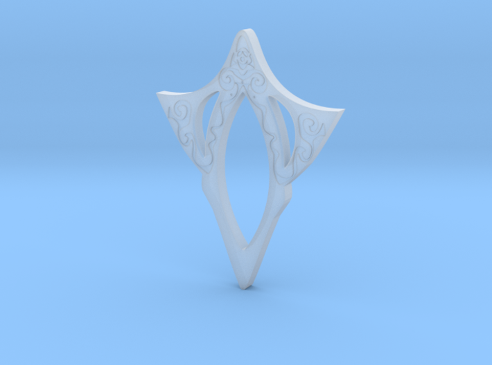 Engrave Mother Pendant 3d printed