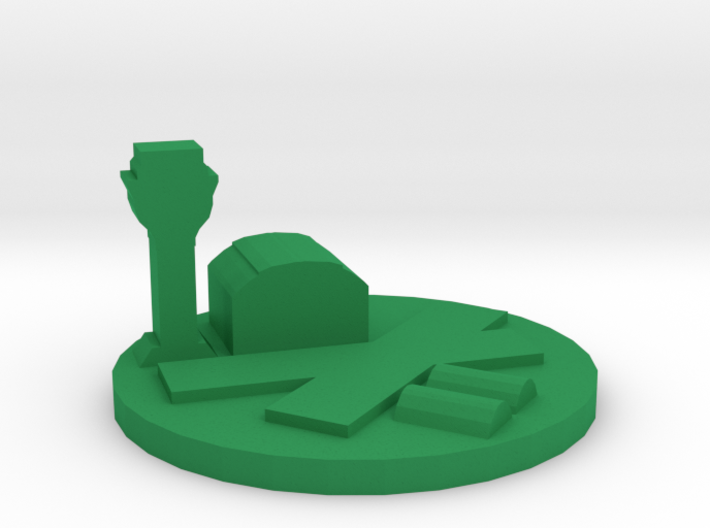 Game Piece, Airfield 3d printed