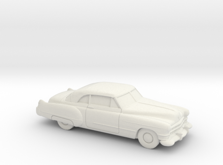 1/87 1949-52 Cadillac Series 62 Coupe 3d printed