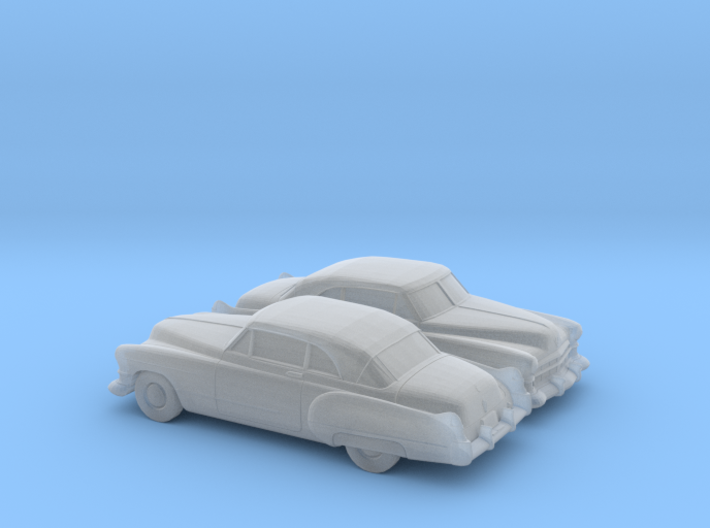 1/160 2X 1949-52 Cadillac Series 62 Coupe 3d printed