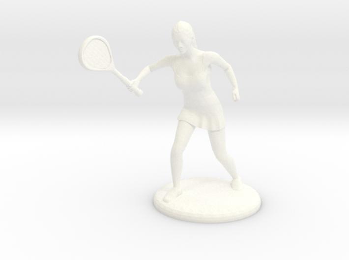 Tennis Girl 3d printed