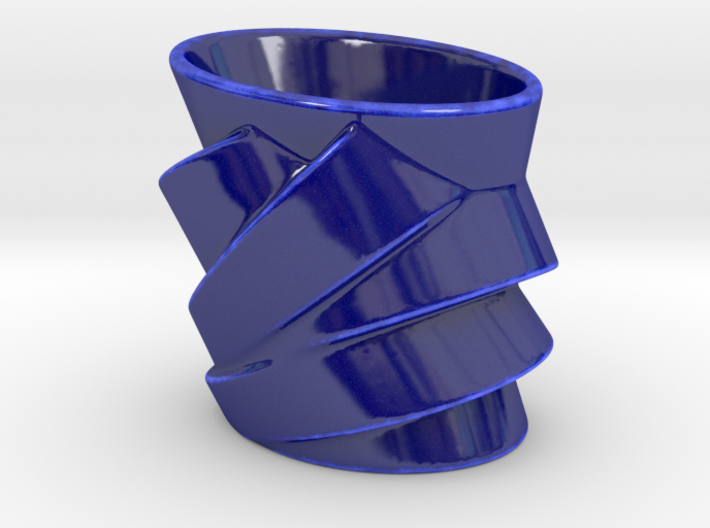 Cubist Cup 3d printed