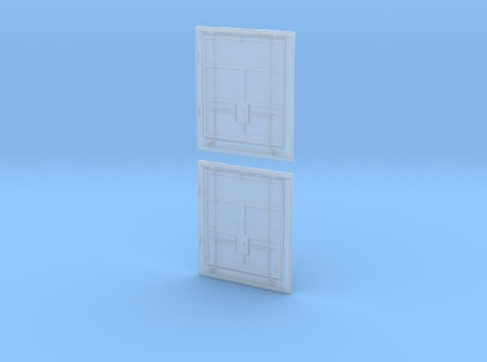 11.5h X 10w Plug Door 3d printed
