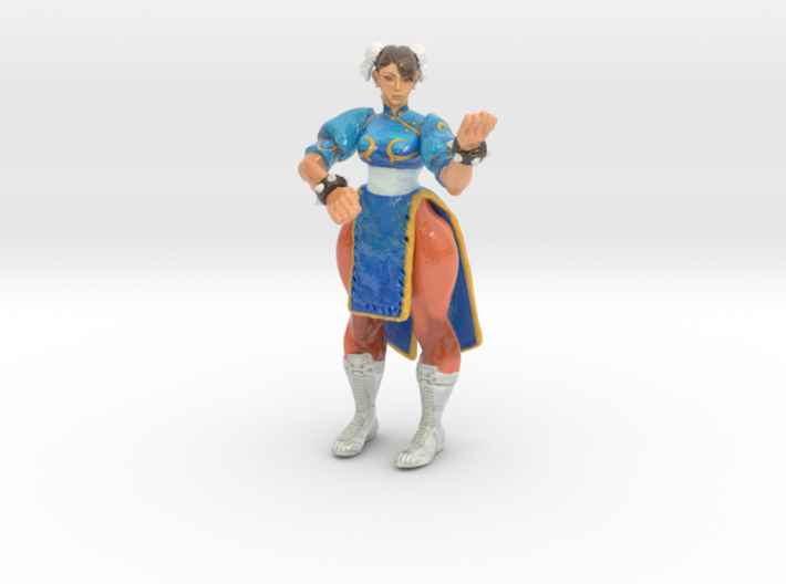 Chun-Li Fan Art 3d printed