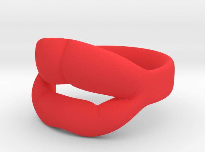 Famous Lips - Angelina 3d printed