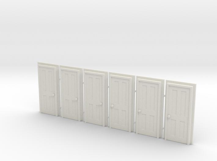 Door Type 5 - 760 X 2000 X 6 3d printed