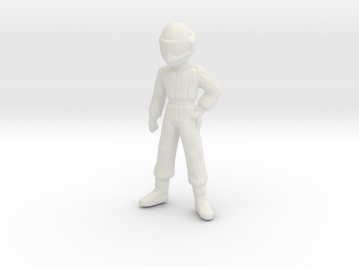 1/24 Young Racing Driver w/ Helmet 1.56 m 3d printed