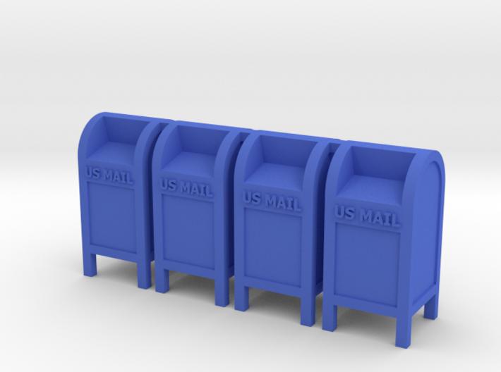 Mail Box - 'O' 48:1 Scale Qty (4) 3d printed