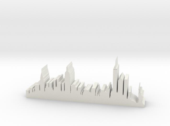 "NY Skyline 5"" Long 3d printed"