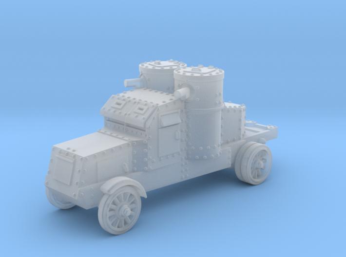 Peerless Armoured Car (6mm) 3d printed