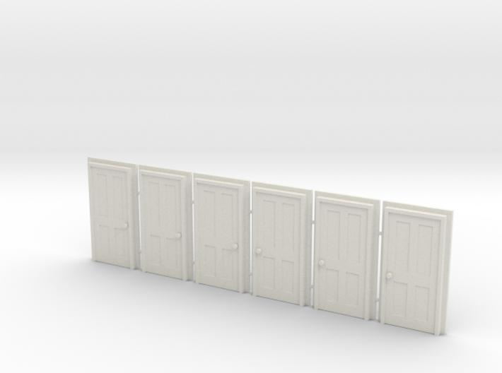 Door Type 5 - 900 X 2000 X 6 3d printed