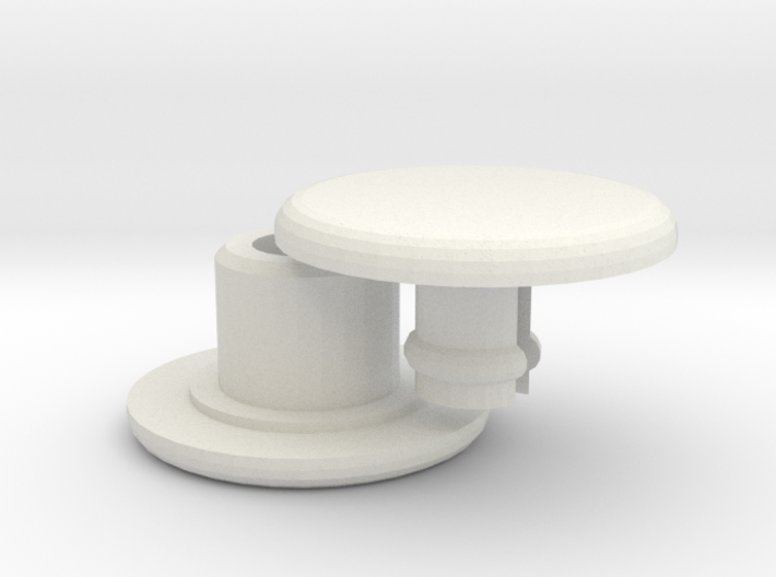 Bearing Cap for Micro Fidget Spinners - 5mm ID 3d printed