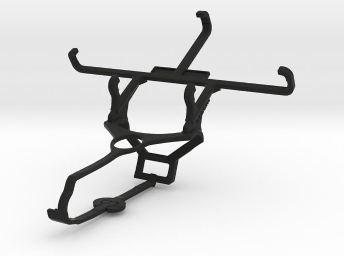 Steam controller & Lava Iris Atom X - Front Rider 3d printed