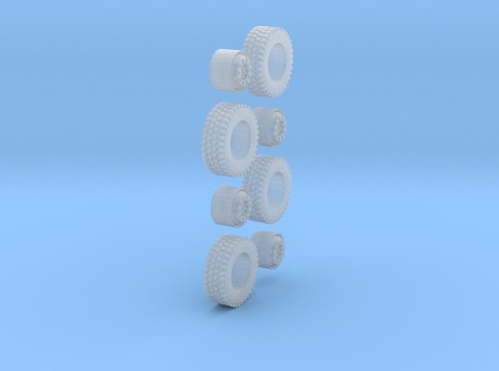 1 Satz Reifen 12,7mm 3d printed