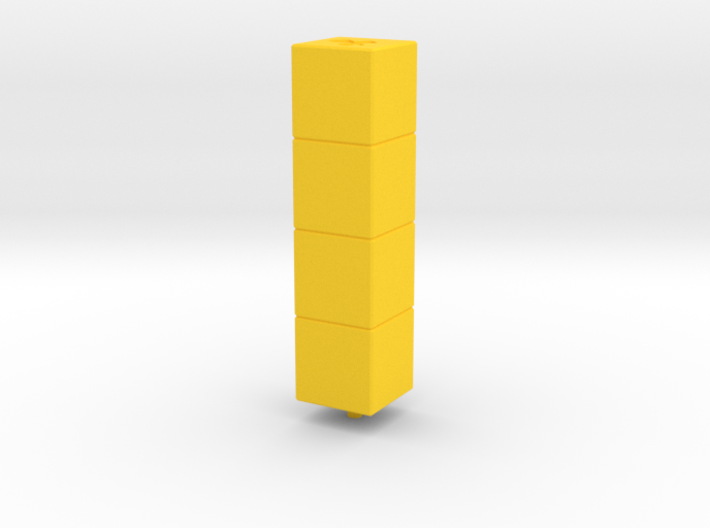 Tower of Pimps (Top Module) 3d printed
