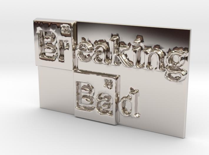 Breaking Bad Logo 3d printed