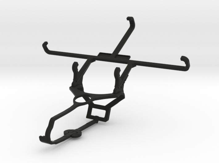 Steam controller & LG X mach - Front Rider 3d printed