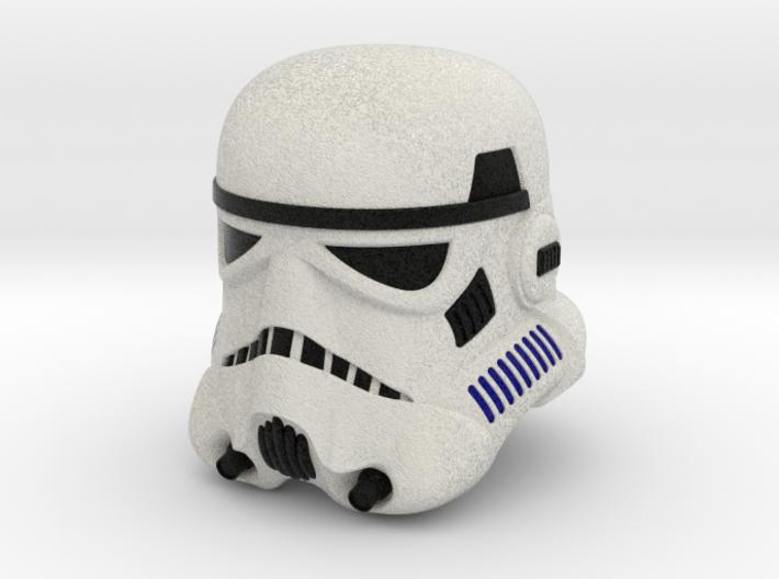 Stormtrooper Helmet (Multicolor) 3d printed
