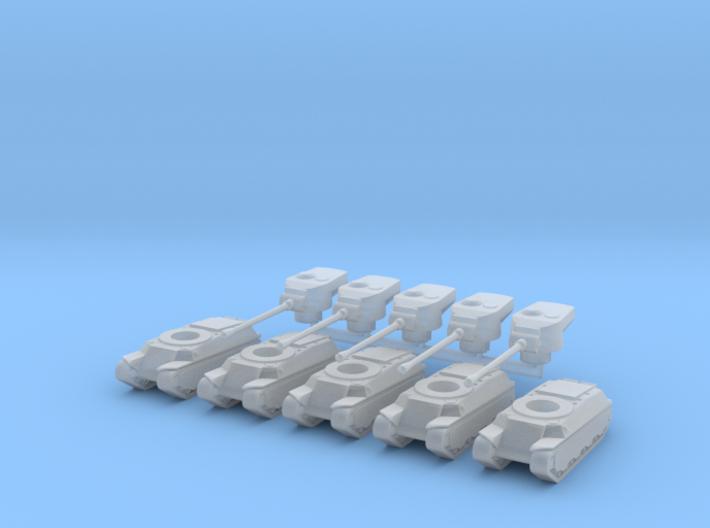 5X 1/285 M6A2 3d printed