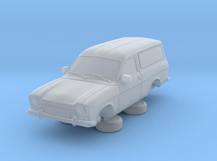 1-76 Escort Mk 1 2 Door Van 3d printed