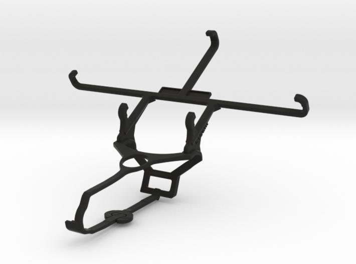 Steam controller & Panasonic Eluga Mark - Front Ri 3d printed