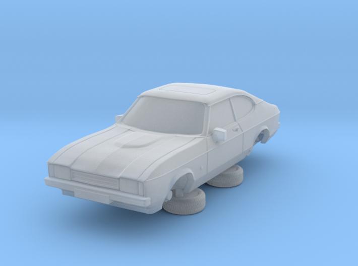 1-76 Ford Capri Mk2 3L 3d printed