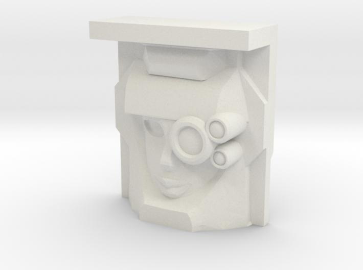 """R63 """"Scaffold"""" Face (Titans Return) 3d printed"""