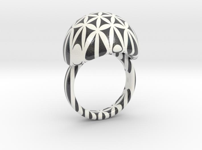 VESICA PISCIS Ring Nº26 3d printed