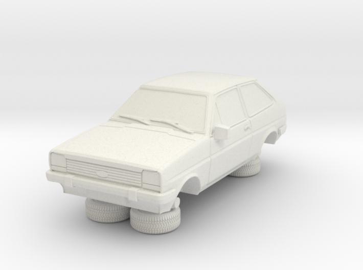 1-87 Ford Fiesta Mk1 Standard 3d printed