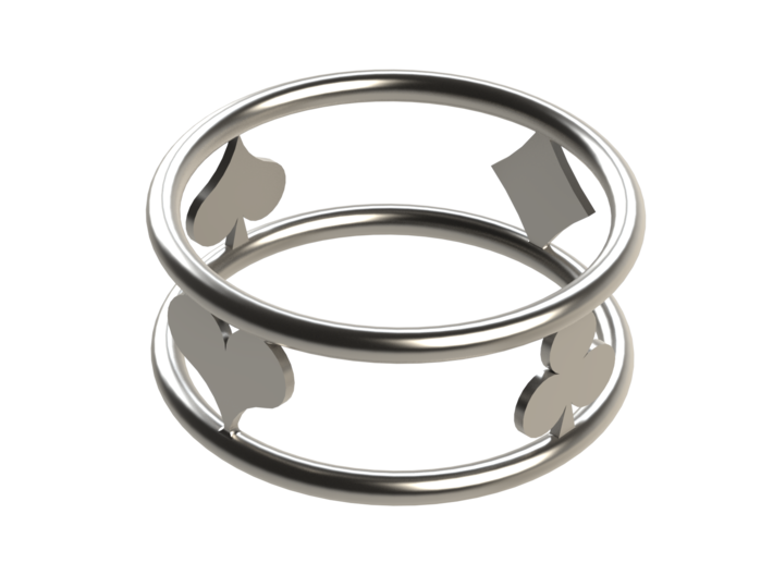 Suit Ring Size 5 3d printed