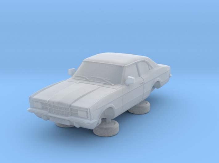 1-87 Ford Cortina Mk3 2 Door Standard Square Hl 3d printed