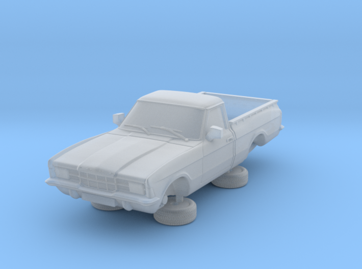 1-76 Ford Cortina Mk3 2 Door P100 Square Hl 3d printed