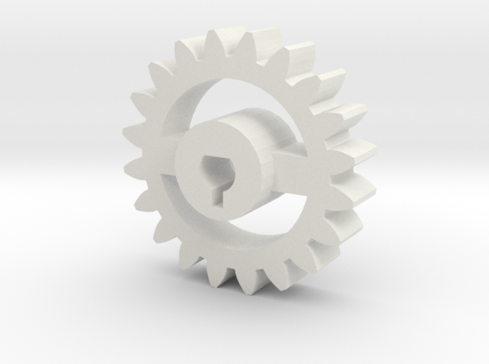 Foxic Antweight Gear 3d printed