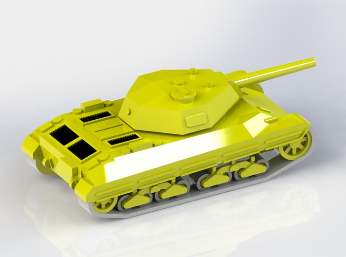 Italian P43 bis Medium Tank 1/285 6mm 3d printed Add a caption...