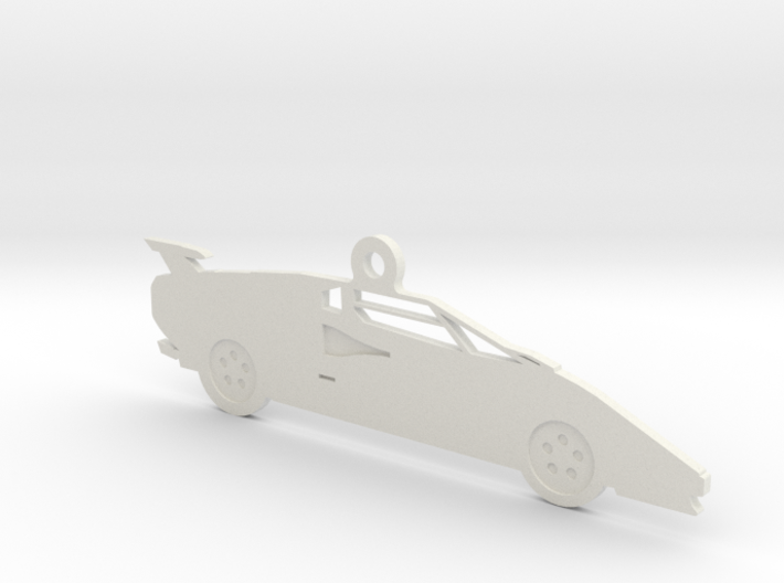Lamborghini Countach Ornament 3d printed