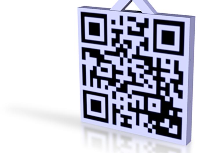 QRCode -- http://www.surfsalad.eu 3d printed
