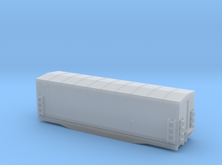 Southern Railway Radio Car - Zscale 3d printed