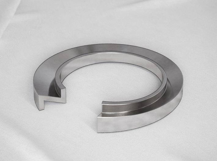 Z Letter Ring 3d printed