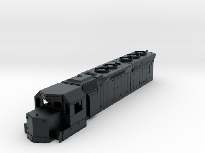 TT Scale SD45 shell 3d printed